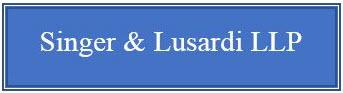 Singer & Lusardi LLP
